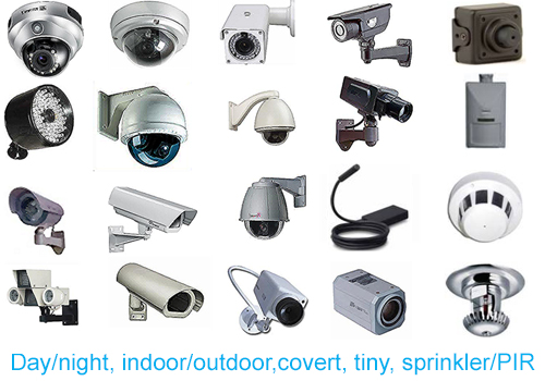 CTS can advise the correct CCTV cameras for your needs, including day/night cameras, indoor/outdoor cameras, tiny & covert cameras